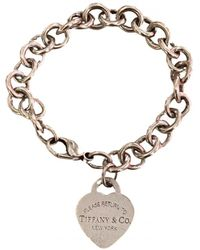 Tiffany & Co. Return to Tiffany Silber Armbänder - Mettallic
