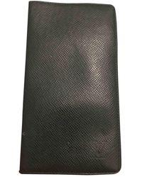 Louis Vuitton Brazza Leder Kleinlederwaren - Mehrfarbig