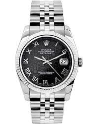 Rolex Lady Datejust 26mm Uhren - Schwarz