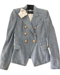 Balmain - Pre-owned Jacket - Lyst