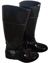 Michael Kors Wellington Boots - Black