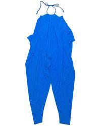 Jean Paul Gaultier - Blue Other Jumpsuits - Lyst