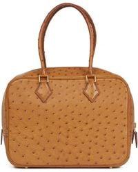 944e0110be3f Lyst - Hermès Hermès · Kelly 32   Camel × Gold Hardware Ostrich   C ...