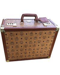 MCM Cloth 24h Bag - Brown