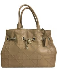 Dior - Leather Handbag - Lyst