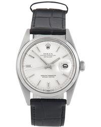 Rolex Reloj en acero plateado Datejust 36mm - Multicolor