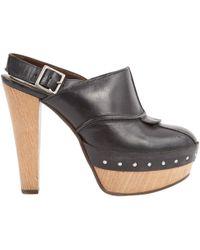 Marni - Black Leather - Lyst