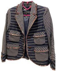 Marc By Marc Jacobs Tweed Short Vest - Multicolor