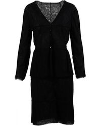 Chanel - Pre-owned Wool Jumpsuit - Lyst