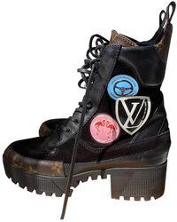 Louis Vuitton Laureate Geschnürt boots - Mehrfarbig