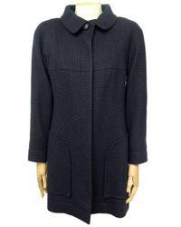 Chanel Tweed Mäntel - Blau