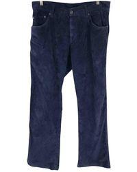 Ferragamo Straight Jeans - Blue