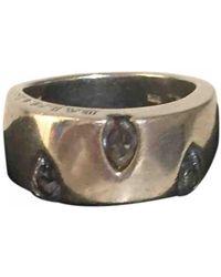 Balmain Silver Ring - Metallic