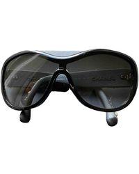 Chanel Oversize brille - Schwarz
