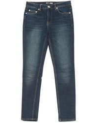 BLK DNM Skinny Jeans - Blau