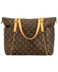 Louis Vuitton Totally Cloth Tote - Brown