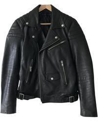 BLK DNM Black Leather Jacket