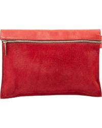 Victoria Beckham - Red Leather - Lyst
