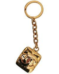 Chanel Gioiello da borsa CC - Metallizzato