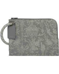 Dior Leinen Taschen - Grau
