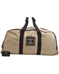 Chanel Cloth 48h Bag - Natural