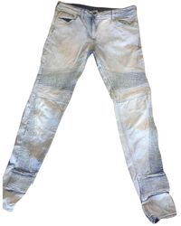 Sandro Jeans en Coton Bleu