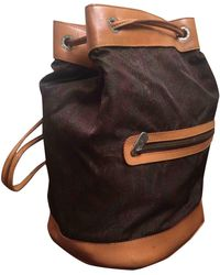 Etro Cloth Backpack - Brown