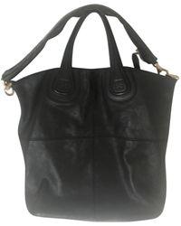 Givenchy Nightingale Leather Handbag - Black