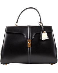 Celine Sac 16 Leder handtaschen - Schwarz