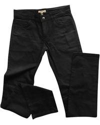 Burberry Straight Jeans - Black
