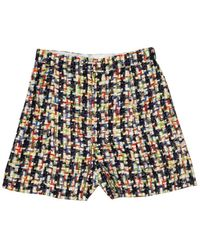 Chanel Multicolour Tweed Shorts