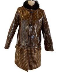 Louis Vuitton Coat - Brown