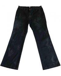 Christian Lacroix Black Denim - Jeans Top