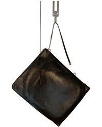 Rick Owens Leather Bag - Black
