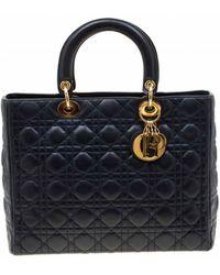 Dior Lady Leder Handtaschen - Mehrfarbig