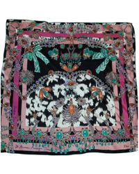 Dior - Pink Silk Silk Handkerchief - Lyst