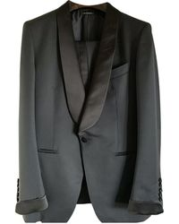 Tom Ford Wolle Anzüge - Blau