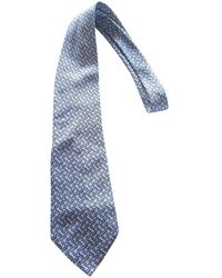 Dior Seide Krawatten - Blau