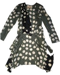 Marni Silk Mid-length Dress - Multicolour