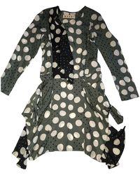 Marni Silk Mid-length Dress - Multicolor
