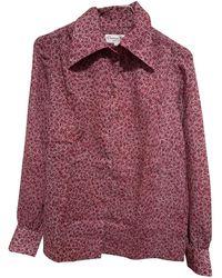 Dior Vintage Pink Wool Top