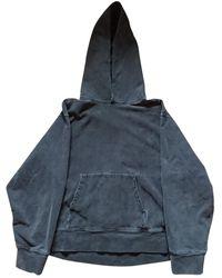 Yeezy Grey Cotton Knitwear & Sweatshirts - Gray