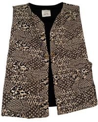 Chanel Vest en Coton Multicolore