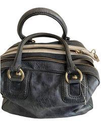 Dolce & Gabbana Leather Satchel - Blue