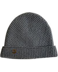 Loro Piana Grey Cashmere Hat - Gray