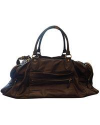 Brunello Cucinelli Leather Travel Bag - Brown