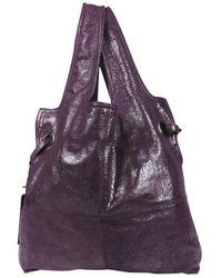 Givenchy - Purple Leather Handbag - Lyst