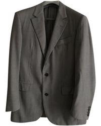 Lanvin Wolle Anzüge - Grau