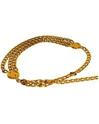 Chanel Gold Chain Belt - Metallic