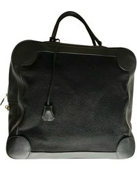 Hermès Omnibus Leather 24h Bag - Black